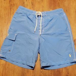 Polo Ralph Lauren pale blue swim trunks
